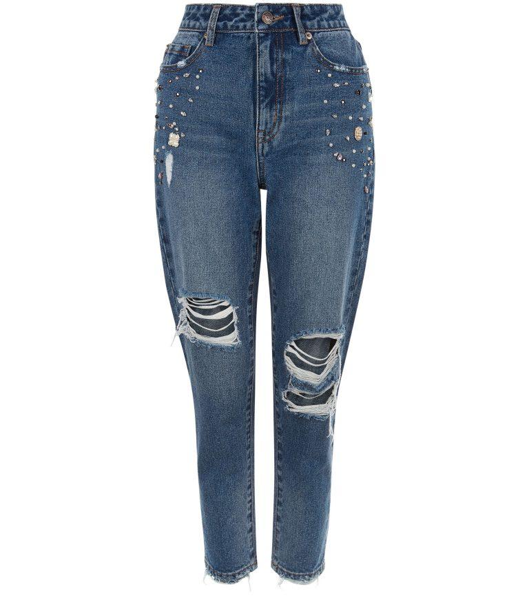 blauwe-geborduurde-gescheurde-skinny-tori-mom-jeans