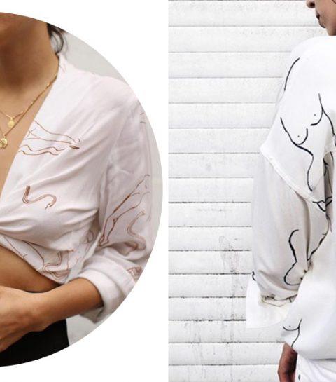 Fashion trend: blote vrouwen op kledingstukken