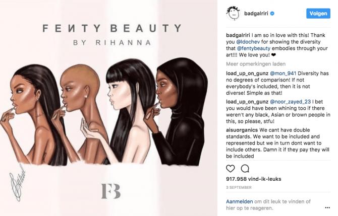 Waarom Rihanna het beauty idool van albino's is - 1