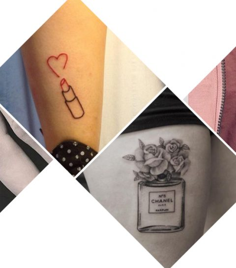 17 tatoeages voor rasechte beautyliefhebbers