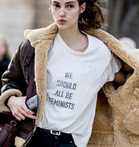 Dit is het nieuwe feministische shirt dat iedereen wil