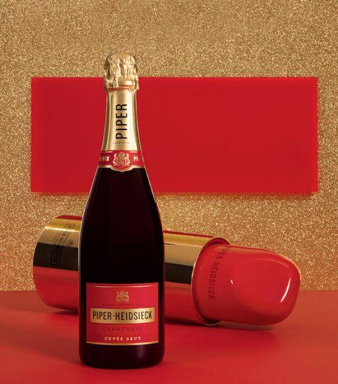 Hebben: de lipstick champagne van Piper-Heidsieck