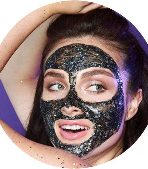 Beautytrend: het fancy glitter gezichtsmasker