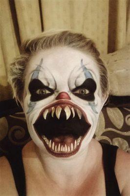 griezelige halloween make-up 2017