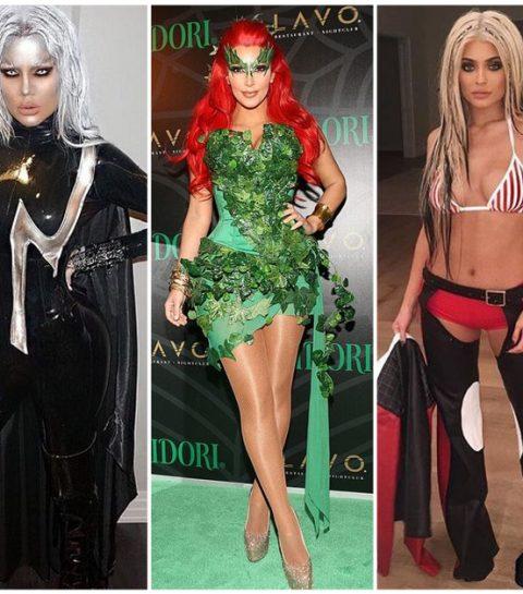 De 20 beste Halloweenkostuums van de Kardashians