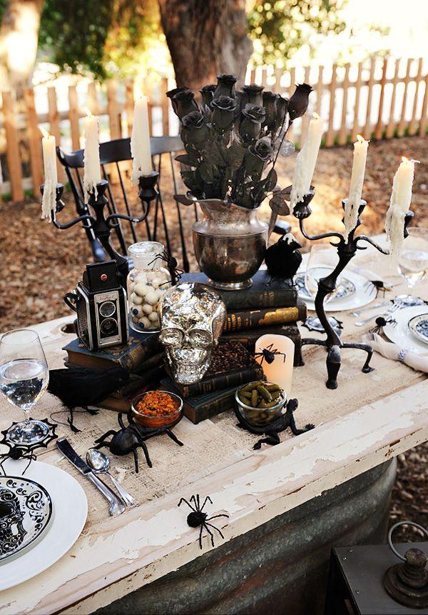 15 (heel erg chique) Halloween tafels - 5