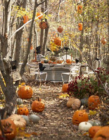 15 (heel erg chique) Halloween tafels - 6