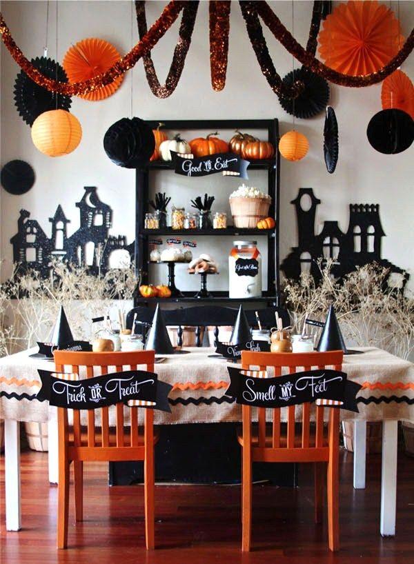 15 (heel erg chique) Halloween tafels - 7