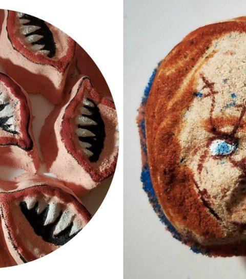 Wie durft: neem op Halloween een bad met deze horrorbruisballen!