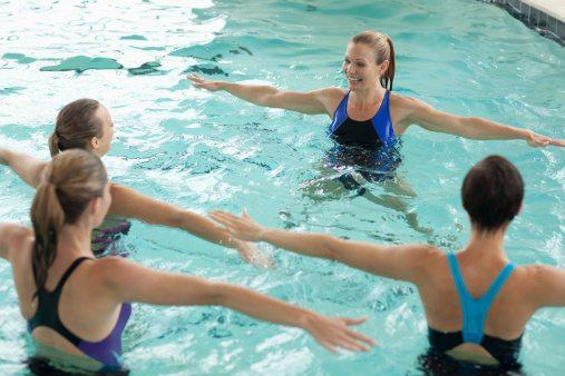 indoor sporten aqua gym