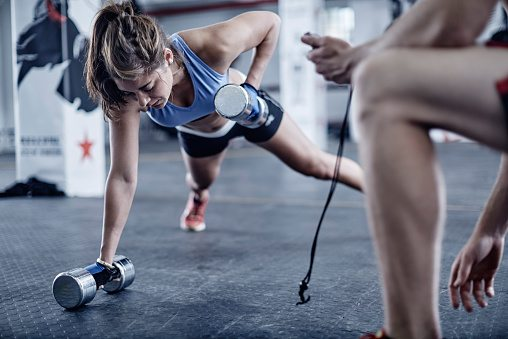 indoor sporten hiit training