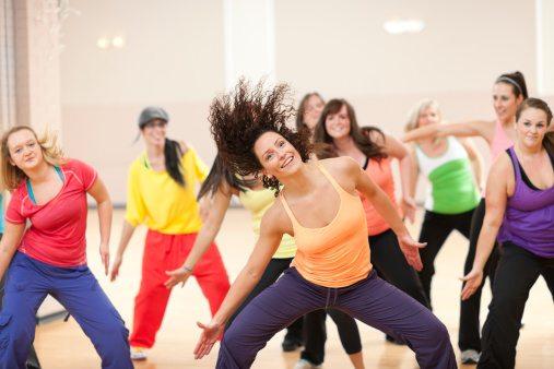 indoor sporten zumba