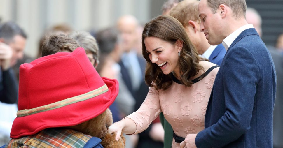 kate middleton zwanger bump beertje paddington