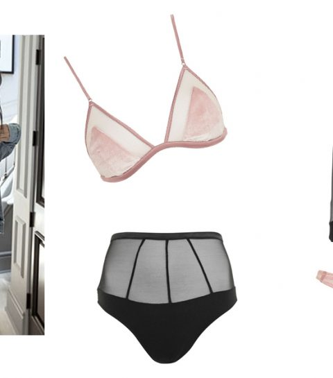 kendall kylie lingerie topshop