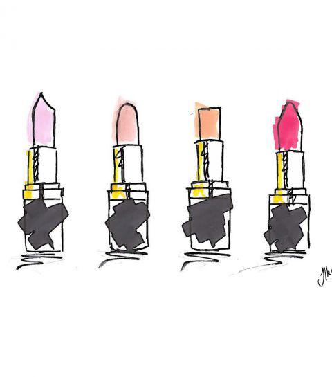 Wat de vorm van je lippenstift zegt over jou