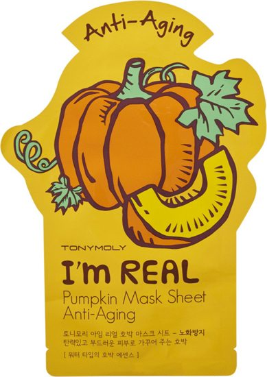 pompoen pumpkin mask tony moly
