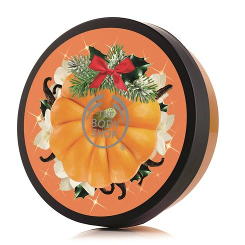 pompoen pumkin vanilla body butter the body shop