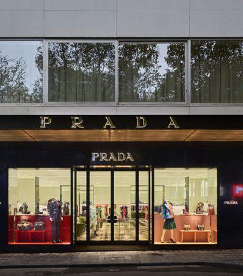 Waaraan doet de nieuwe Pradaboetiek in Brussel jou denken?