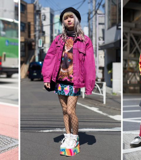 Freaky fashion: de leukste streetstyle van Tokyo fashion week