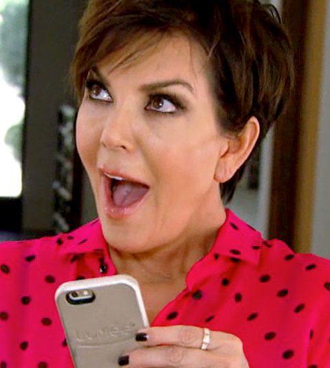 Kris Jenner bevestigt per ongeluk de zwangerschappen van Kylie en Khloe
