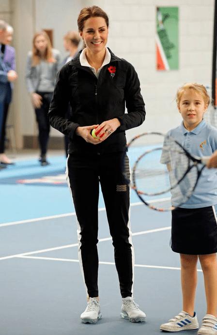 Ook Kate Middleton draagt wel eens een jogging - 1