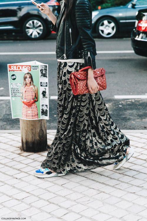 lange jurk winter shopping