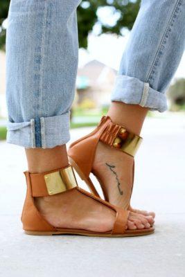 mini tatoeage voeten