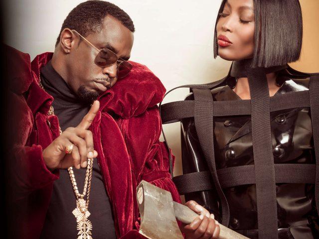 P. Diddy en Naomi Campbell