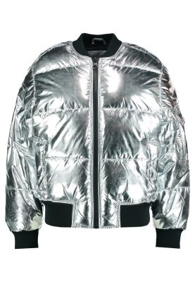 shopping goud gold zilver silver shiny jas jacket bomber dons cheap monday
