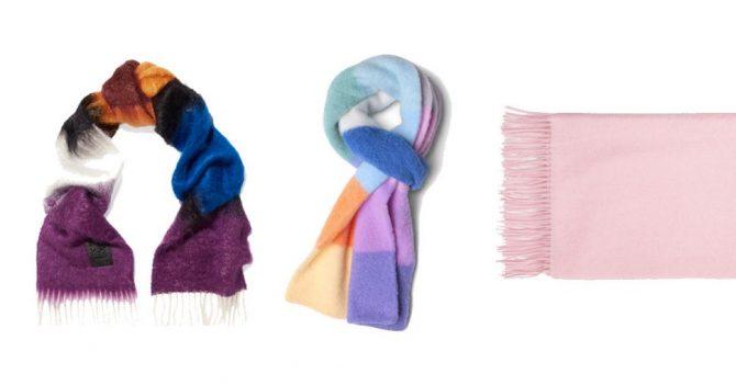 sjaals shopping winter kou