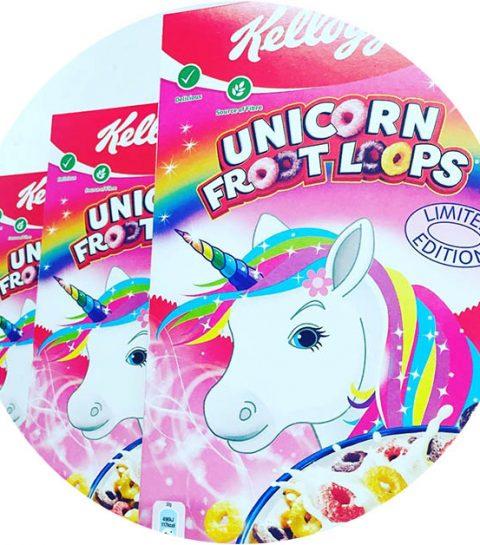 OMG: deze Unicorn Froot Loops willen wij nu proeven!