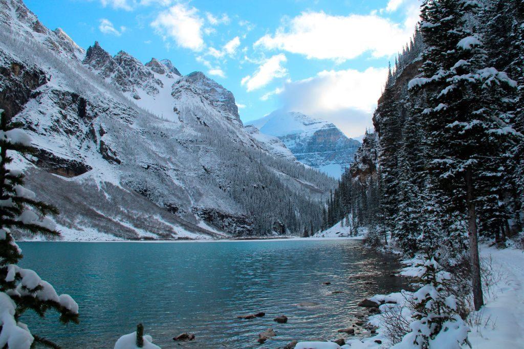 winter, reizen, bestemming, top 10, sneeuw, natuur, citytrip, banff national park, canada