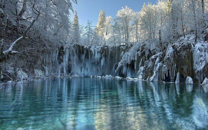 winter, reizen, bestemming, top 10, sneeuw, natuur, citytrip, Plitvice, Kroatië
