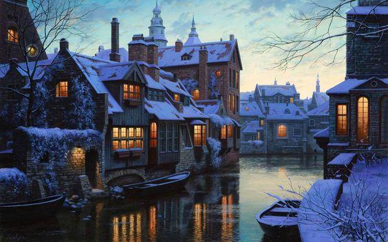 winter, reizen, bestemming, top 10, sneeuw, natuur, citytrip, brugge, belgie