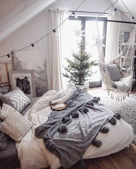 winters wit interieur