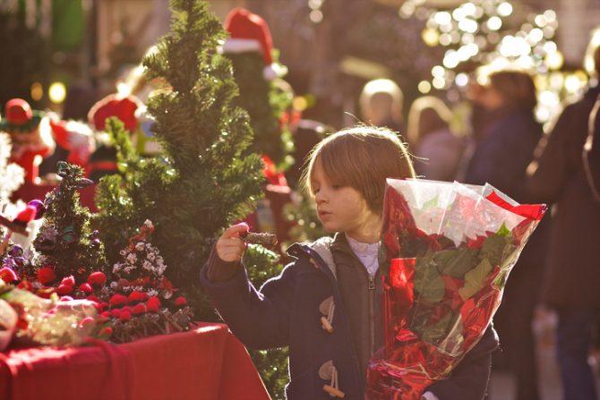 kerstmarkt, kerstmis, vakantie, feestdagen, gezellig, barcelona