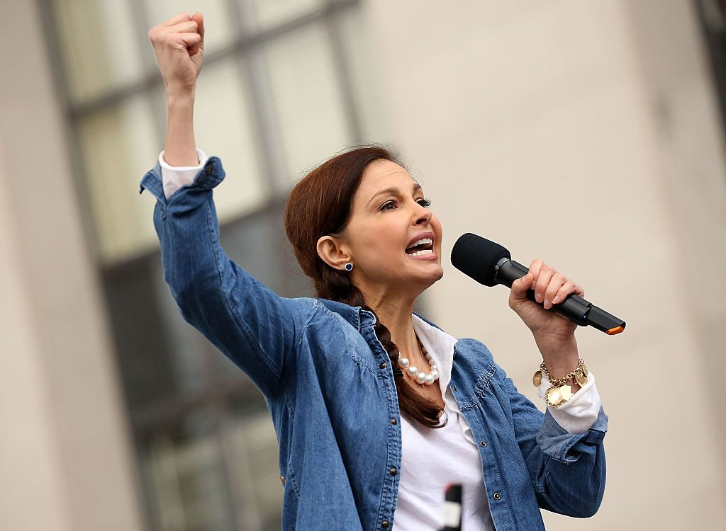 time ashley judd women's march