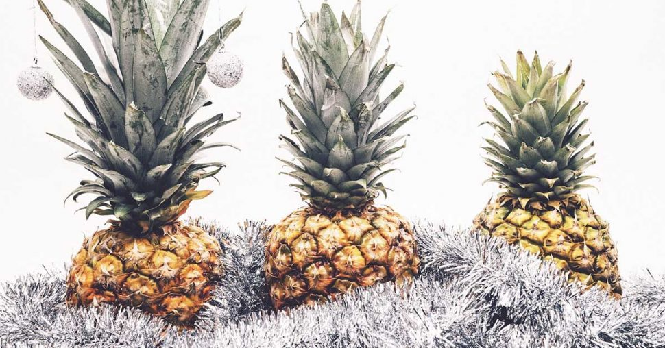 Kerst trend: zet jij dit jaar een ananas kerstboom?