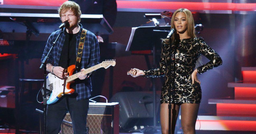 beyonce ed sheeran duet