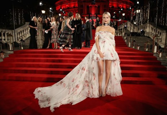 British Fashion Awards Poppy Delevingne