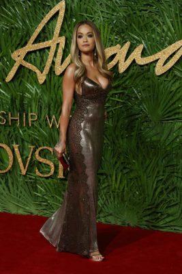 British Fashion Awards Rita Ora