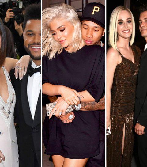 De 25 celebrity breuken van 2017
