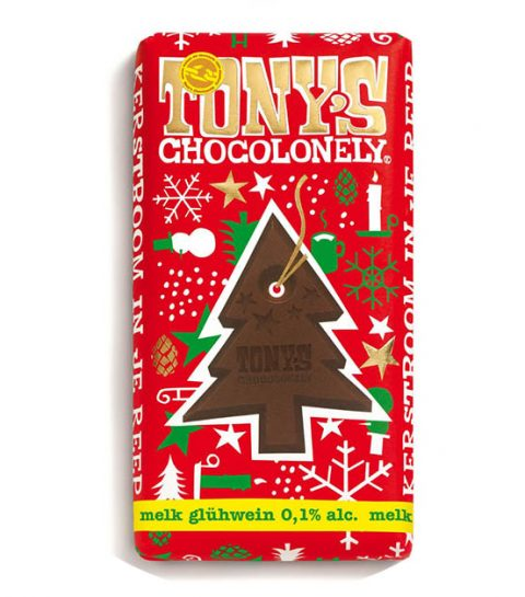 YES: Tony's Chocolonely komt met glühwein chocolade