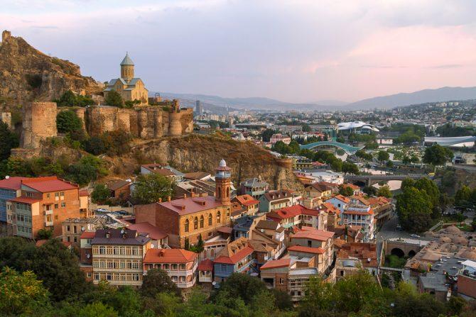 citytrip 2018 tbilissi georgië