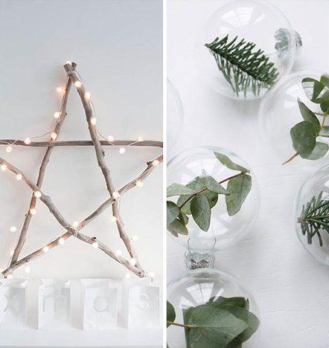 25 X minimalistische en chique decoratie-ideeën voor Kerst!