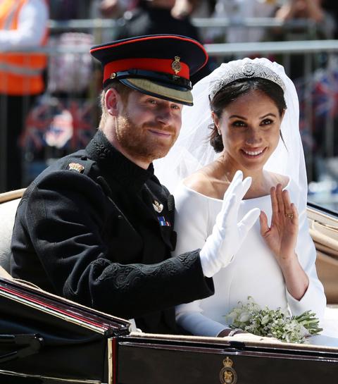 Deze celebs stapten in 2018 in het huwelijksbootje