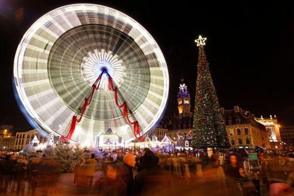 kerstmarkt, kerstmis, vakantie, feestdagen, gezellig, rijsel