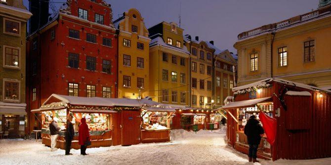kerstmarkt, kerstmis, vakantie, feestdagen, gezellig, stockholm