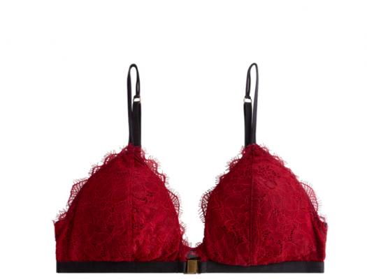 lingerie, sexy, winter, bodysuit, string, rood, kant, korset, bustier