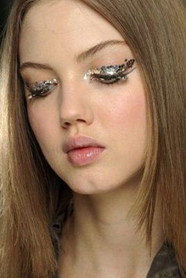 make up feestdagen beauty look